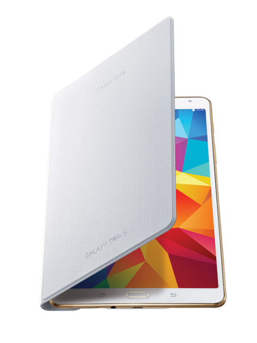 Samsung  Galaxy Tab S 8.4 blanco Simple  Cover