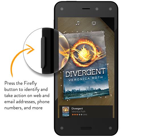 Amazon Fire Phone Firefly botón