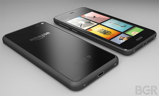 Amazon Smartphone oficial render