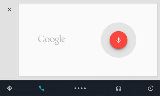 Android Auto comando por voz
