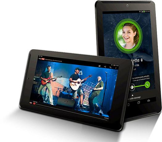 ASUS Fonepad 7 en México pantalla en llamada