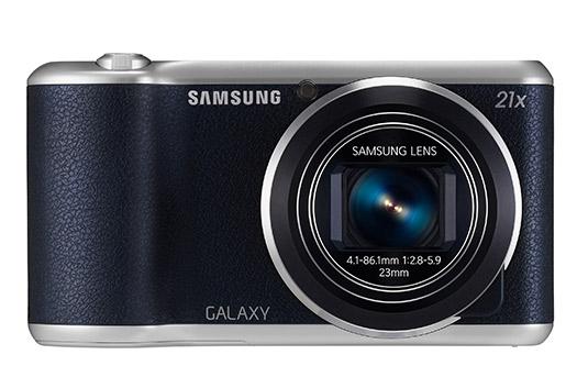 Samsung Galaxy Camera 2 color negro con acabado en piel