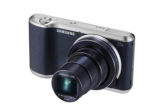 Samsung Galaxy Camera 2 color negro perfil Zoom óptico