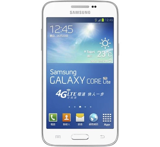 Samsung Galaxy Core Lite pantalla