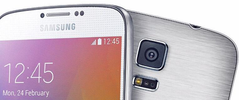 Samsung Galaxy F cámara trasera con Flash y sensores
