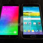 Imagen muestra Galaxy F delgado y con pantalla grande