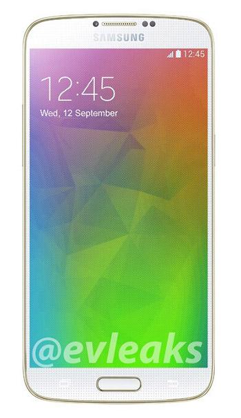 El Samsung Galaxy F color Oro al completo
