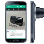 Vine lanza app para Galaxy K Zoom