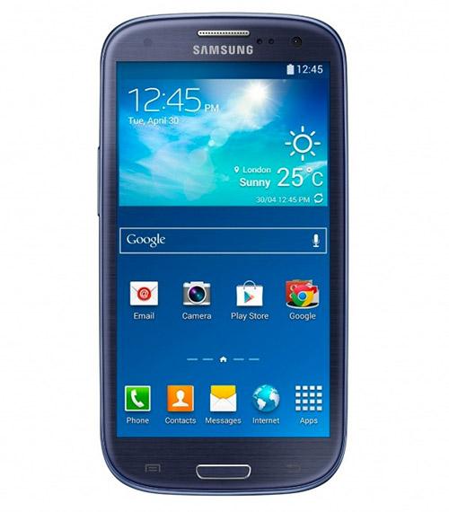 Samsung Galaxy S III Neo color azul