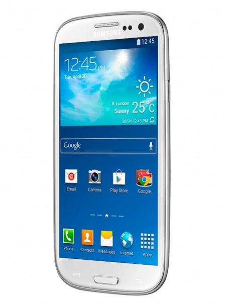 Samsung Galaxy S III Neo color blanco