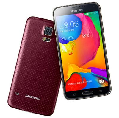 Samsung Galaxy S5 con LTE-A color Rojo