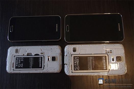 Samsung Galaxy S5 Mini y Galaxy S5 comparación