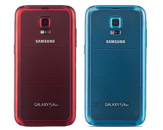 Samsung Galaxy S5 Sport trasera cámara Logo