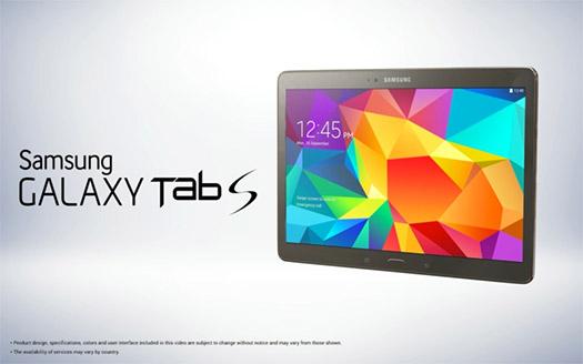 Samsung Galaxy Tab S 10.5 imagen oficial