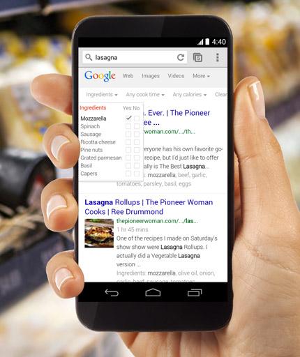 Google Android Silver smartphone en Rumor