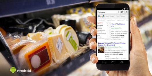 Google Android te ayuda a la toma de decisiones
