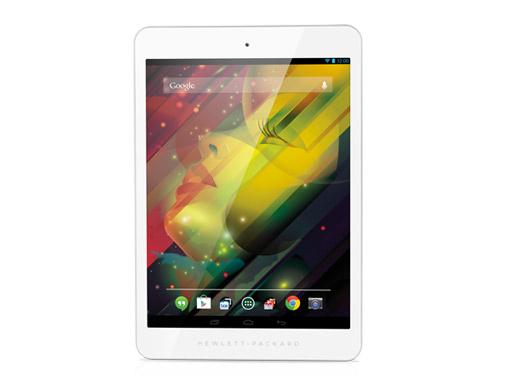 HP 8 tablet con procesador Quad Core y Android en México pantalla frente