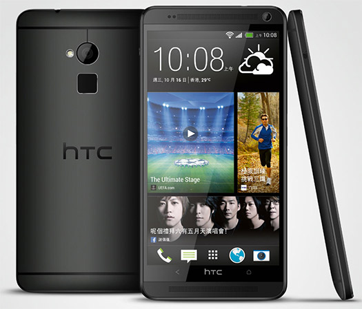 HTC One Max 4G color negro ya en México