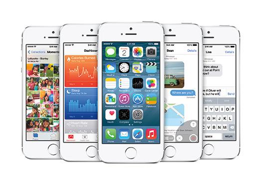 Apple iPhone 5s con iOS 8