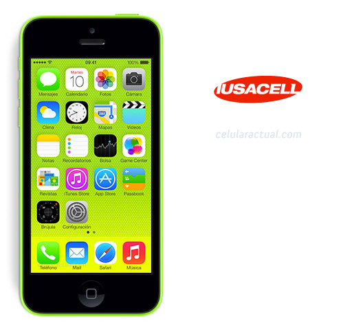 iPhone 5c de 8 GB en Iusacell México