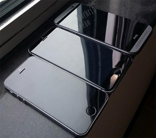 iPhone 6 de 4.7 comparado con el HTC One M8