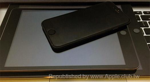 iPhone 6 junto al iPad Air 2 y iPad mini 3 con Touch ID