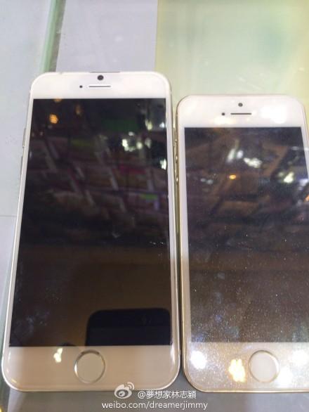 iPhone 6 4.7 en filtración con iPhone 5S