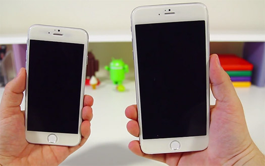 iPhone 6 phablet y iPhone 6 4.7