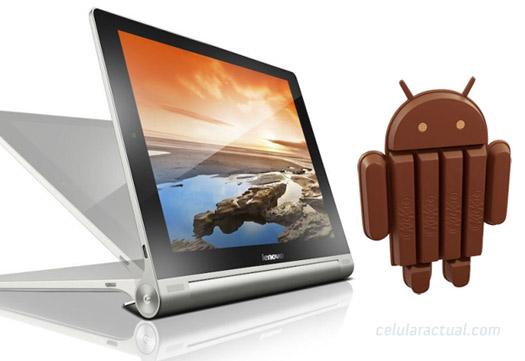 Lenovo Yoga Tablet 8 con Android 4.4 KitKat
