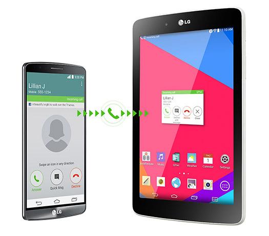 LG G Pad 8.0 QPair 2.0