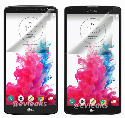 LG G3 con el LG G Pro 2 Lite / G Vista