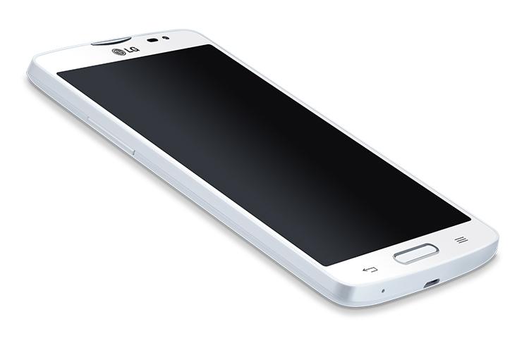 LG L80 D373 en México con Telcel pantalla acostado