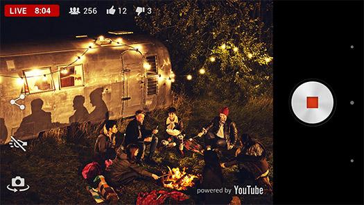Sony app Live on Youtube para Xperia Z2 en Transmisión en directo