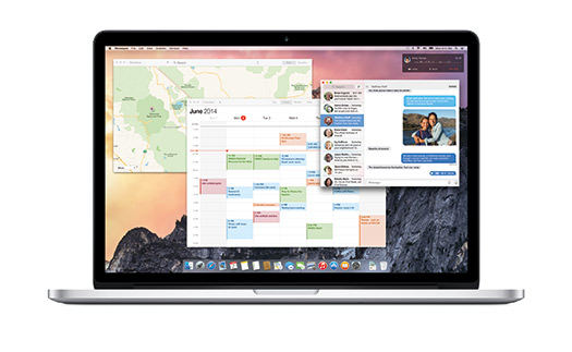 Apple Mac OS X Yosemite