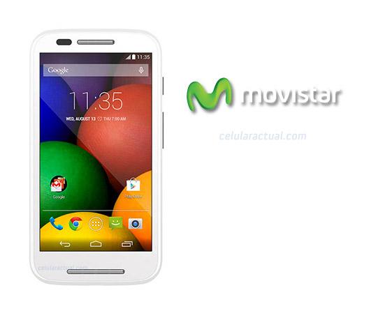 Motorola Moto E ya en México con Movistar