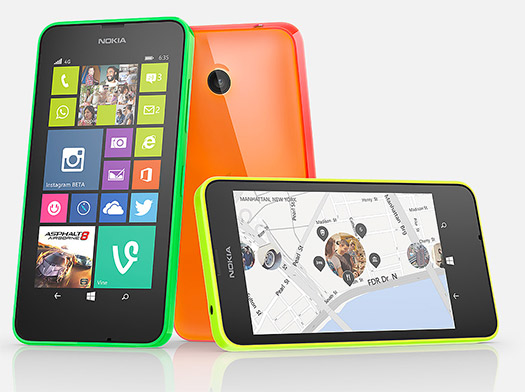 Nokia Lumia 635 colores  en México