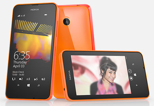 Nokia Lumia 635 color naranja en México