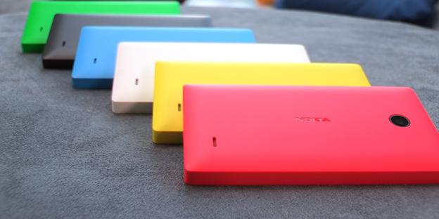 Nokia X con Android colores