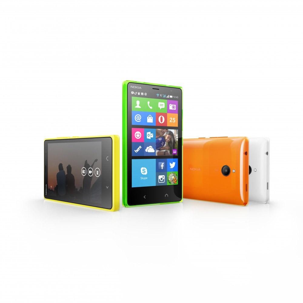 Nokia X2 colores pantalla y cámaras