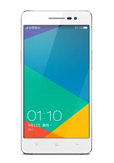Oppo R3 oficial color blanco