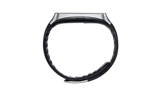 Samsung Gear Live color negro de lado