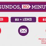 Tarifas con Virgin Mobile en México y recargas