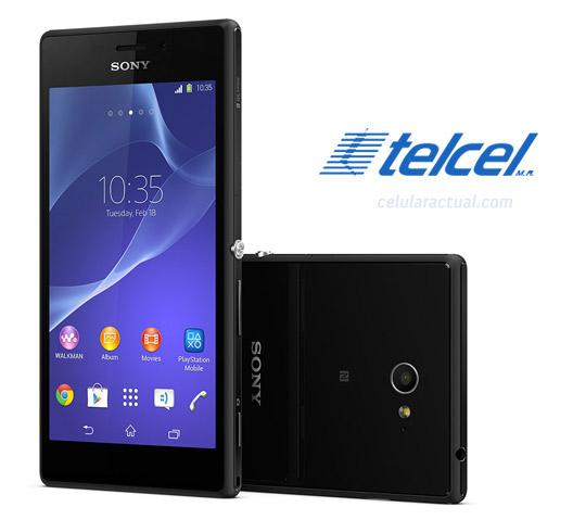 Sony Xperia M2 en México con Telcel