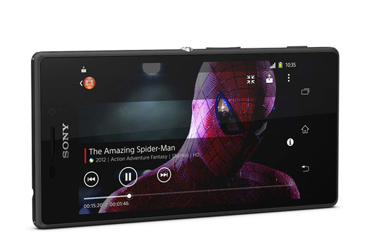 Sony Xperia M2 pantalla HD Spiderman
