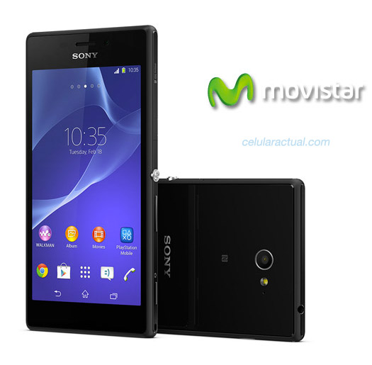 Sony Xperia M2 en México con Movistar