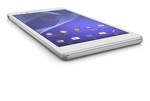 Sony Xperia T2 Ultra pantalla color blanco
