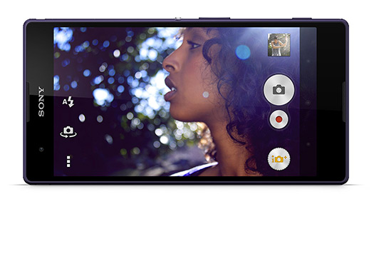 Sony Xperia T2 Ultra pantalla Cámara App