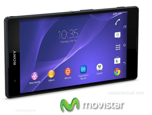 Sony Xperia T2 Ultra  phablet en México con Movistar