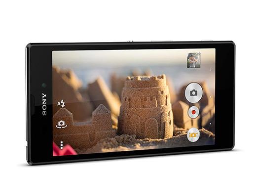 Sony Xperia T3 oficial en México pantalla Cámara App