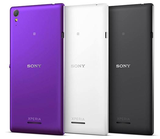 Sony Xperia T3 oficial cámara trasera en México colores